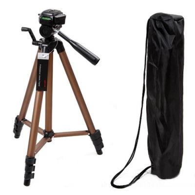 鋁合金專業四節式相機攝影腳架-耀眼金(CP3150)
