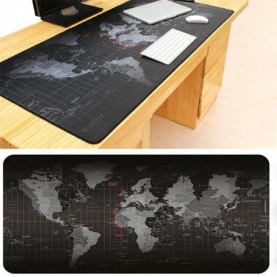 加大地圖滑鼠墊/桌墊 加厚防滑 桌布