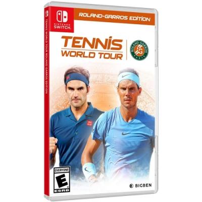 網球世界巡迴賽法國網球公開賽 -NS中英文合版