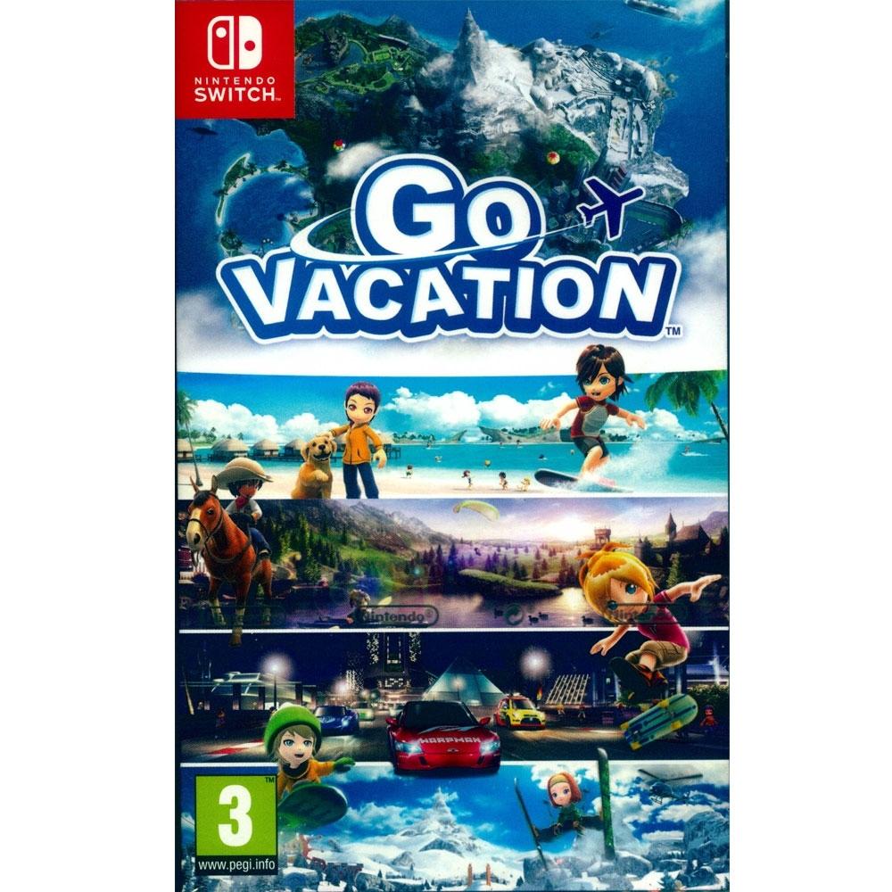 歡樂假期 Go Vacation - NS Switch 英日文歐版