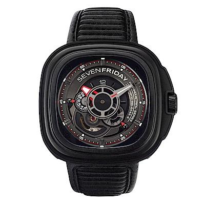 SEVENFRIDAY P3B 潮流新興瑞士機械腕錶