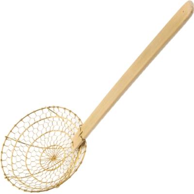 《FOXRUN》竹柄銅製濾杓