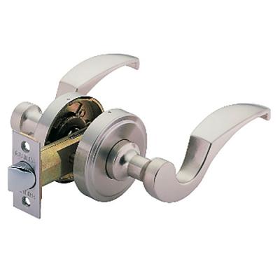 加安 LC603 60mm 磨砂銀 水平把手 防盜鎖 管型 把手鎖 水平鎖 板手 門鎖