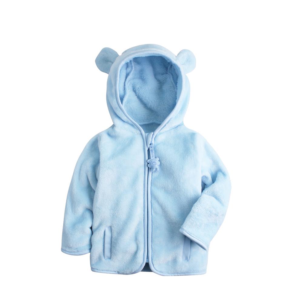 baby童衣絨毛外套 小熊造型 立體耳朵82062