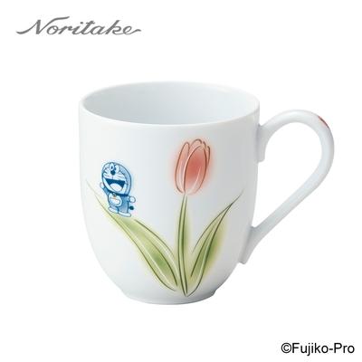 【NORITAKE】哆啦A夢-花卉系列  鬱金香馬克杯290ML