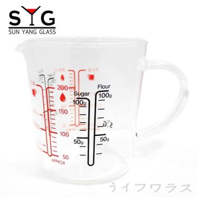 200耐熱量杯200ml-2入組