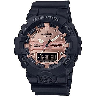 G-SHOCK 金屬亮澤雙顯潮流運動錶(GA-800MMC-1A)