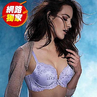 黛安芬-記憶枕Bra 魔術系列B-C罩杯內衣(薰衣紫)