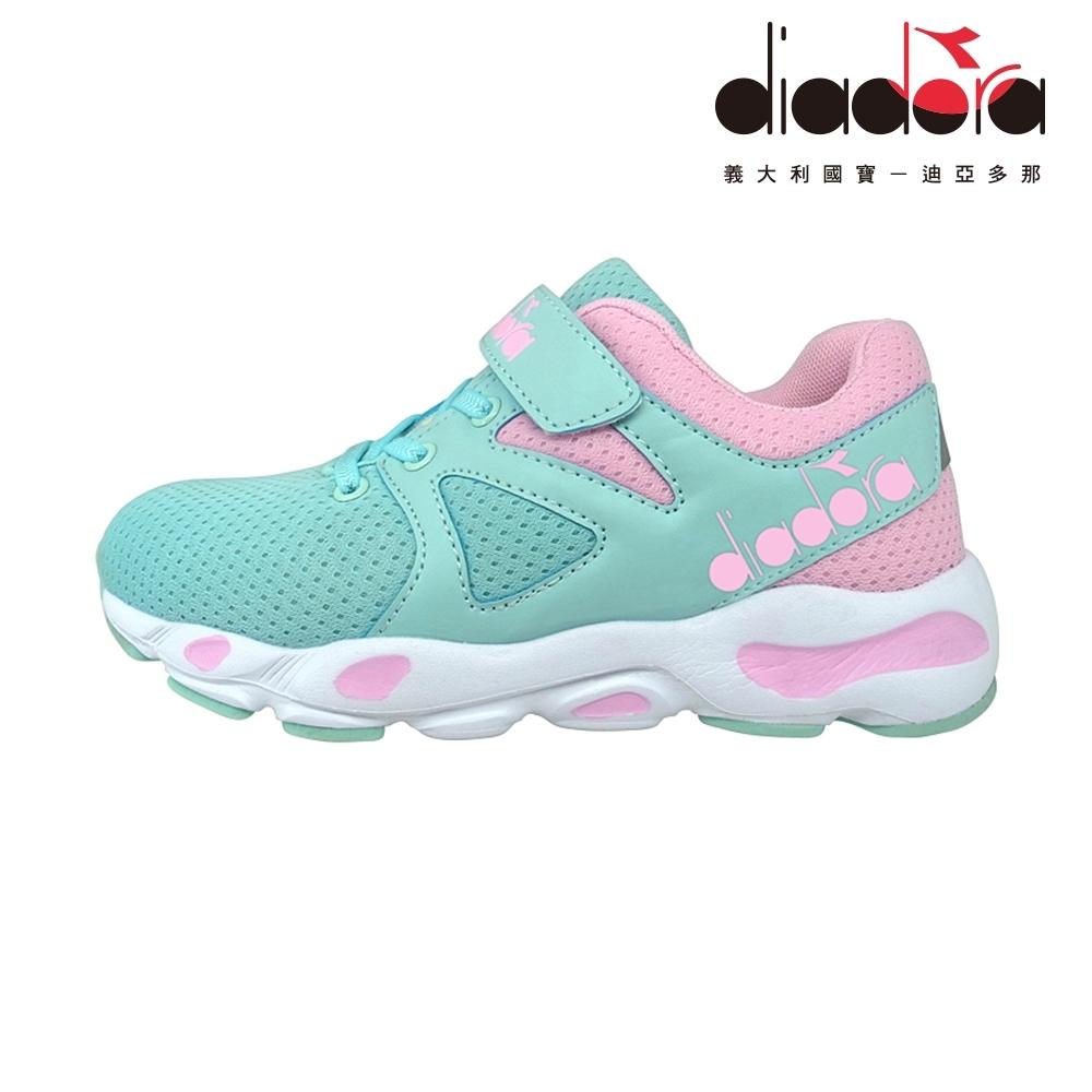 Diadora 歐風運動童鞋 大童 加寬楦 藍 DA9AKC7916