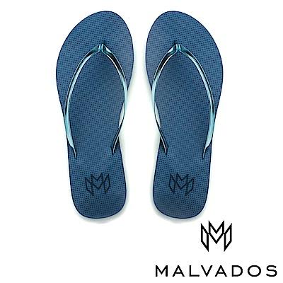 【Malvados 魅凡朵】時尚女性人字拖 Lux 萊絲《藍色迷戀》
