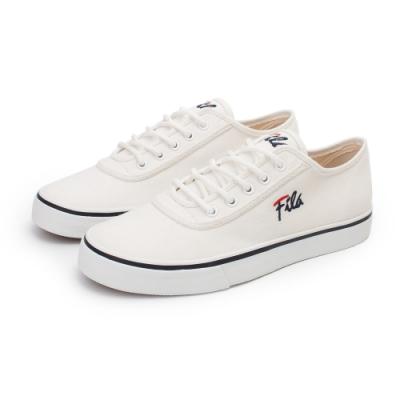 【FILA】CLASSIC 90 帆布鞋 女鞋-米白(5-C917U-133)