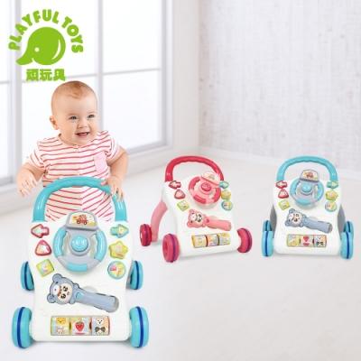 Playful Toys 頑玩具 方向盤學步車(顏色可挑選)