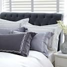 鴻宇 SUPIMA500織 素色刺繡  5色任選 歐式壓框枕套2入