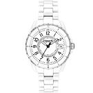 COACH 時尚小香款晶鑽陶瓷腕錶(14503462)-白/32mm