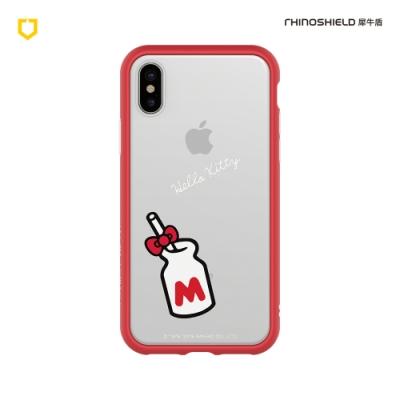 犀牛盾 iPhone Mod NX防摔邊框背蓋手機殼/Hello Kitty-產地直送