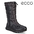 ECCO EXOSTRIKE 突破極限長筒保暖戶外時尚運動靴 女-黑