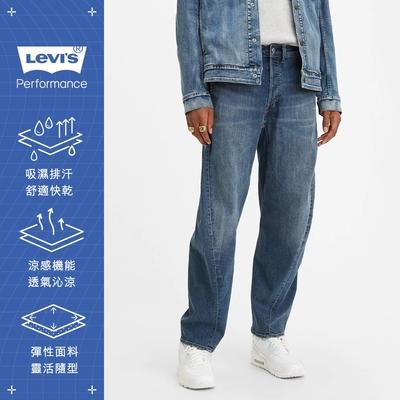 Levis男款570Baggy繭型牛仔褲LEJ 3D褲Cool Jeans
