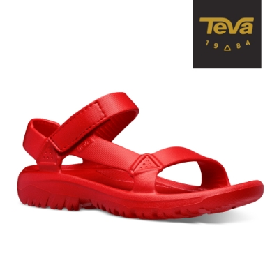 TEVA 原廠貨 女 Hurricane Drift 水陸輕量涼鞋-火紅色