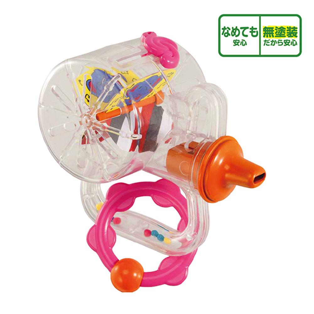 日本People-新口哨笛智育玩具(8m+)(咬舔玩具/五感刺激/不含塗料/訓練肺活量)