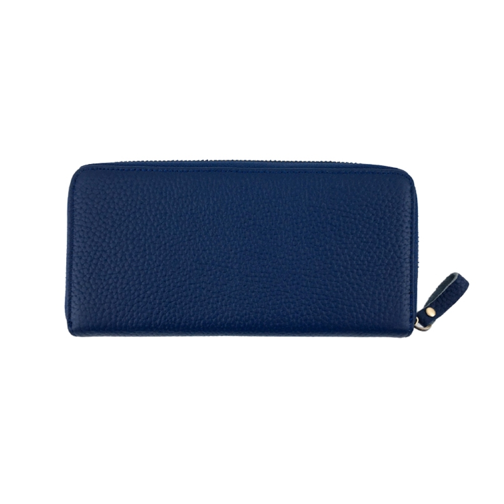 玩皮工坊-真皮頭層牛皮多隔層零錢袋皮夾皮包長夾女夾LH716 product image 1