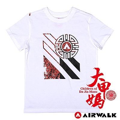 【AIRWALK】大甲媽聯名T恤-春梅迎福(白)