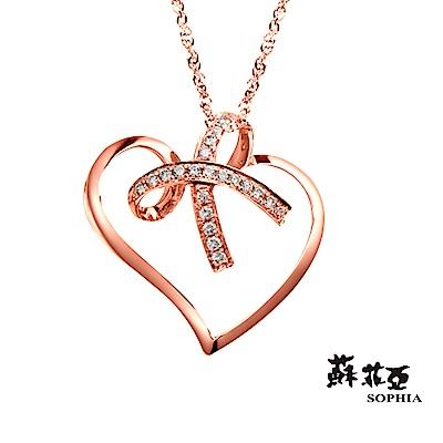 蘇菲亞SOPHIA 鑽鍊 - 真摯 0.10克拉18K鑽石項鍊