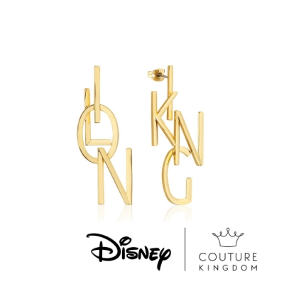 Disney Jewellery by Couture Kingdom迪士尼獅子王字母耳環