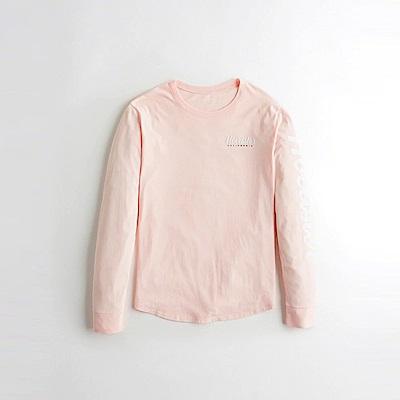 Hollister HCO  長袖 T恤 粉紅 1080