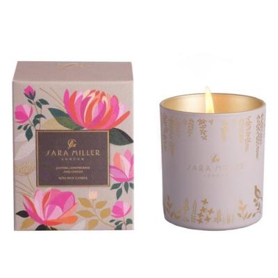SARA MILLER 英國品牌 茉莉/檸檬草/生薑香氛大豆蠟燭240g