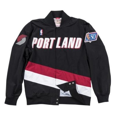 M&N NBA復古熱身外套 拓荒者