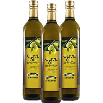 台糖 頂級橄欖油3瓶(750ml/瓶)