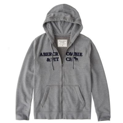 AF a&f Abercrombie & Fitch 帽T外套 灰色 1360