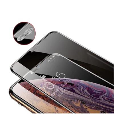 iPhone 11 / XR 6.1吋 防塵網5D冷雕曲面滿版全覆蓋 鋼化玻璃膜保護貼