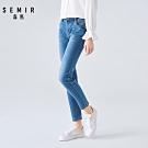SEMIR森馬-徹底修飾細腿修身窄管褲-女