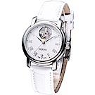 EPOS開芯鏤空時尚女機械錶 (4314.133.20.20.10 )白色