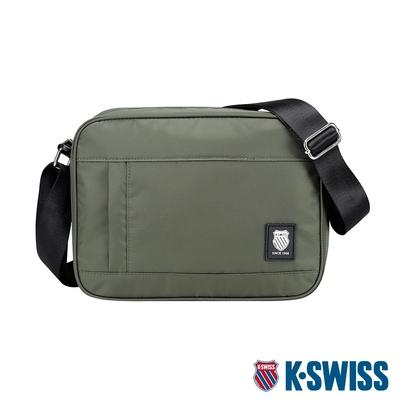 K-SWISS CT SHOULDER BAG運動斜背包-橄欖綠