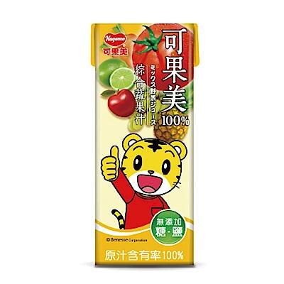可果美蕃果園 百分百綜合蔬果汁(200ml)