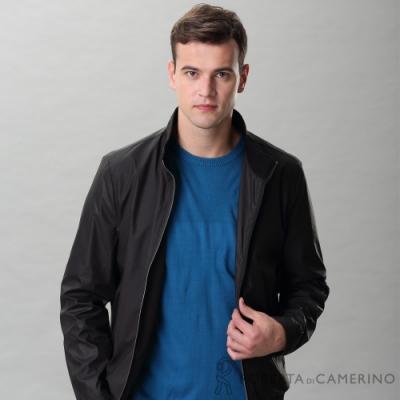 ROBERTA諾貝達 獨特迷人 休閒輕薄夾克外套 黑色