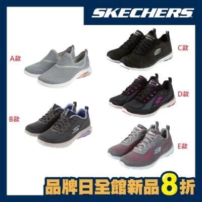 SKECHERS 女運動健走鞋