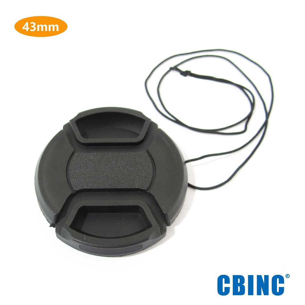 CBINC 夾扣式鏡頭蓋 43mm ( 附繩 )