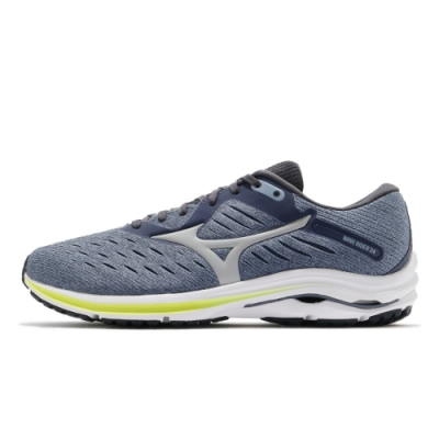 MIZUNO RIDER 男慢跑鞋 藍灰-J1GC200455