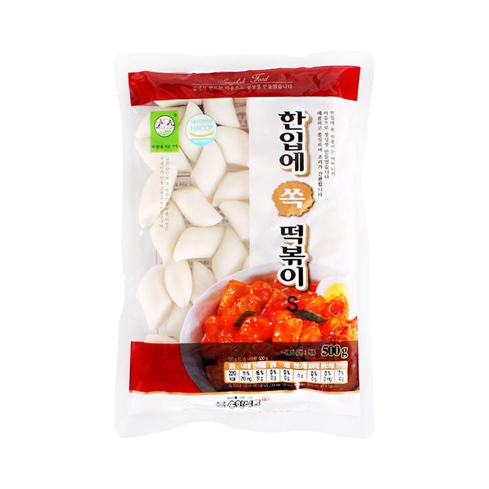 【韓味不二】韓國一口吃年糕(500g)