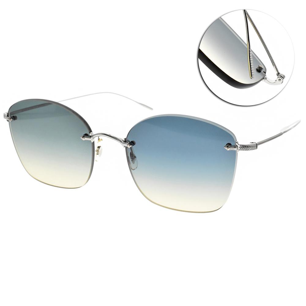 OLIVER PEOPLES太陽眼鏡 復古經典/銀 #MARLIEN 503679