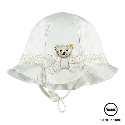 STEIFF德國精品童裝 蝴蝶結熊熊遮陽帽