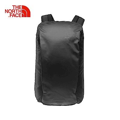 The North Face北面男女款黑色舒適防護休閒後背包 2ZEKJK3