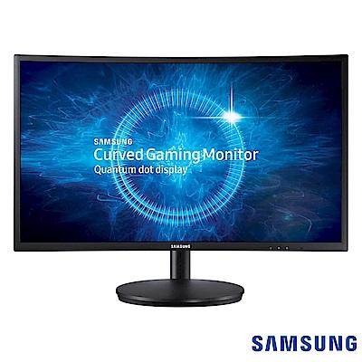 [無卡分期12期] SAMSUNG C27FG70FQE 27型 量子點曲面電競螢幕