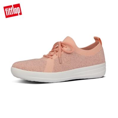 FitFlop F-SPORTY UBERKNIT 運動風繫帶休閒鞋-女(珊瑚粉)