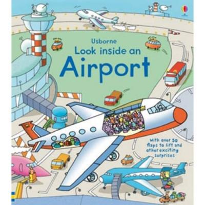 Look Inside An Airport 航空機場瞧瞧看翻翻操作書