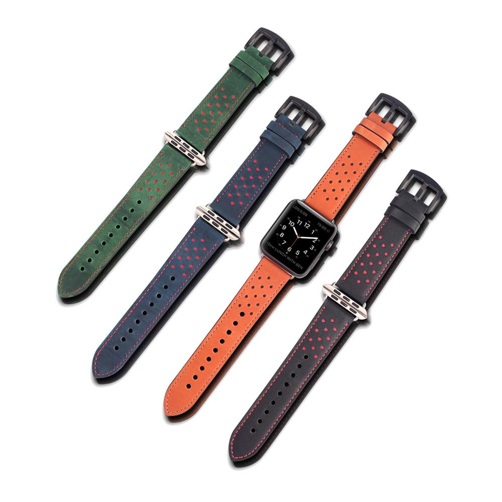 DUX DUCIS Apple Watch (38/40mm) 經典款真皮錶帶 @ Y!購物