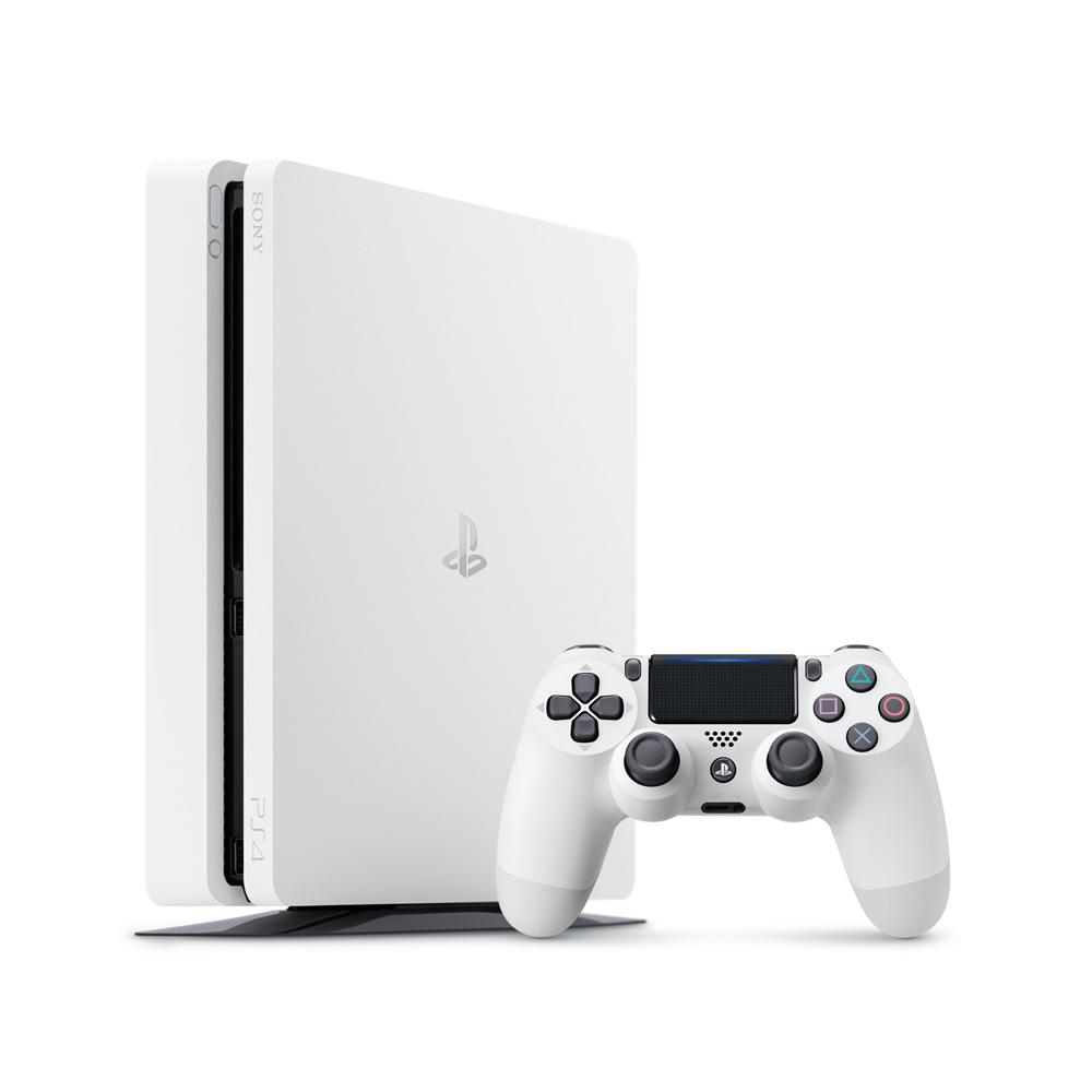 PS4主機 500GB台灣公司貨 (白色)